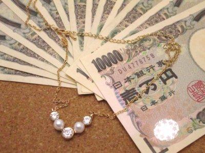 アクセサリーとお金