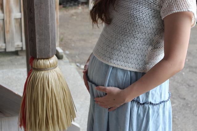 妊娠中の浮気許せる?(イメージ)